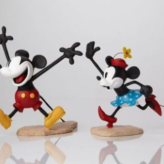 Mickey & Minnie Maquettes